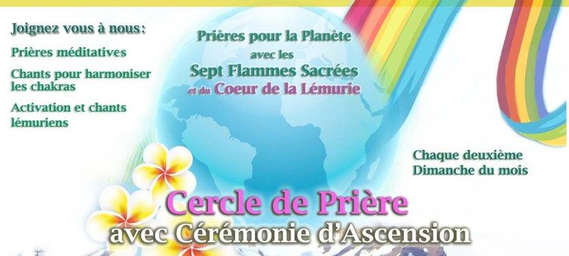 Cercle de Prière Mondiale avec Cérémonie d'Ascension mensuel – ActivationLémurienne