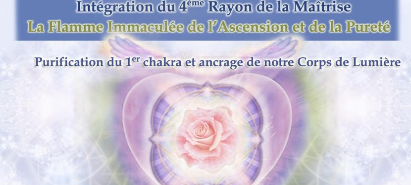 Webinar: Intégration du 4ème Rayon de la Maîtrise: La Flamme Immaculée de l'Ascension et de laPureté